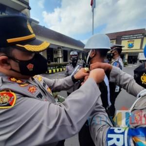Operasi Patuh Semeru Di Kota Kediri, Kerumunan Warga Jadi Sasaran Utama