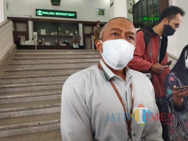 Sekretaris Daerah (Sekda) Kota Malang, Erik Setyo Santoso. (Arifina Cahyanti Firdausi/MalangTIMES).