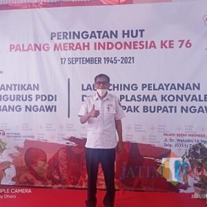 Efektif Sembuhkan Covid-19, PMI Ngawi Luncurkan Pelayanan Donor Plasma Konvalesen