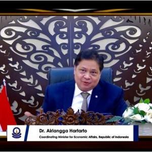 Dianugerahi Global Award for Outstanding Contribution to National Economic Recovery, Menko Airlangga: untuk Rakyat Indonesia