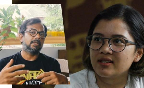 Haris Azhar dan Fatia Maulidiyanti (Foto: IST)