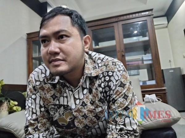 Anggota Komisi III DPRD Kabupaten Malang, Amarta Faza.(Foto: Riski Wijaya/MalangTIMES).