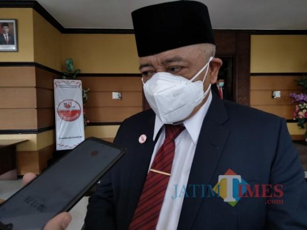 Bupati Malang HM. Sanusi.(Foto: Riski Wijaya/MalangTIMES).