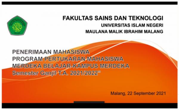 Ilustrasi penerapan MBKM di FST UIN Maliki Malang (Ist)