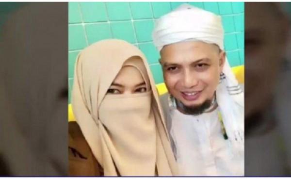 Istri ketiga Ustaz Arifin Ilham (Foto: Tribunnews)