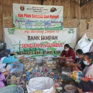 WCD 2021, DLH Ngawi Ajak Masyarakat Clean up dan Pilah Sampah Dari Rumah