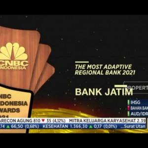 Terus Berinovasi, Bank Jatim Raih The Most Adaptive Regional Bank