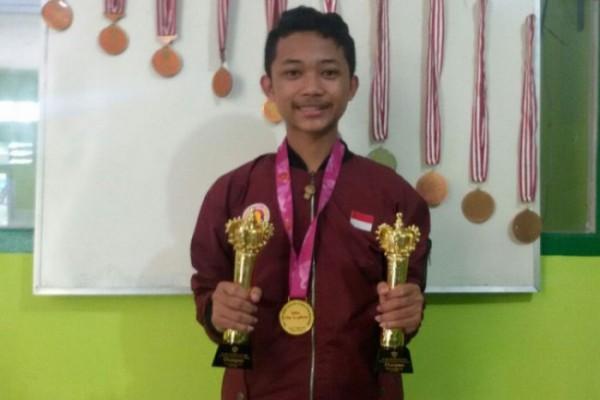 Catur Adi Sagita (20), mahasiswa jurusan Manajemen ini merupakan atlet berkaliber internasional yang mewakili Jawa Timur untuk berkompetisi di ajang Pekan Olahraga Nasional (PON) XX 2021 di Papua (Ist)