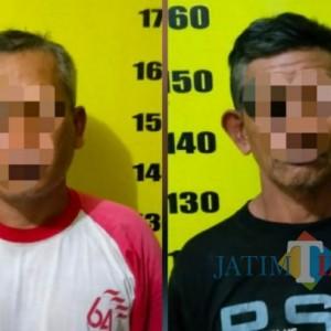 Dua Maling Kayu di Tulungagung Tertangkap Setelah Truk Miliknya Tertinggal