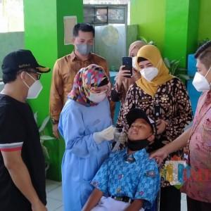 Cegah Cluster Pendidikan Tatap Muka, Disdikbud Kota Malang Gelar Swab di Sekolah