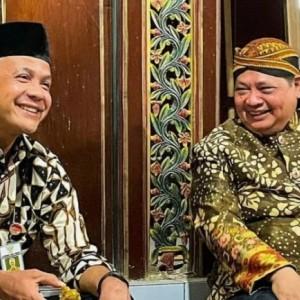 Golkar Surabaya Inginkan Airlangga dan Ganjar Berpasangan di Pilpres 2024