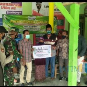 Desa Majangan Salurkan BLT-DD kepada 115 KPM, Penerima Wajib Miliki Sertifikat Vaksin