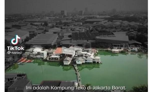 Kampung Teko (Foto: TikTok)