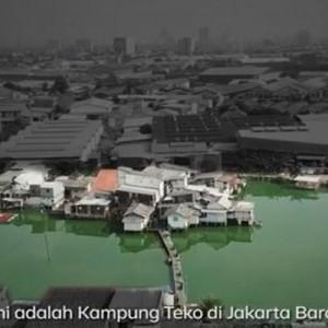 Mengenal Kampung Apung di Jakarta Barat yang Dulunya Seindah Kawasan Pondok Indah