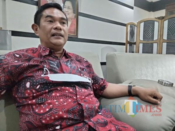 Ketua DPRD Kabupaten Malang, Darmadi.(Foto: Riski Wijaya/MalangTIMES).