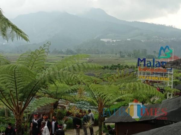 Salah satu destinasi wisata di Kabupaten Malang. (foto: Hendra Saputra/MalangTIMES)