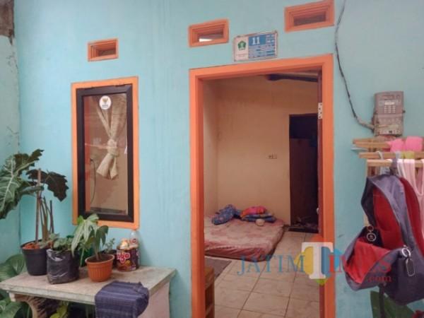 Salah satu hasil renovasi rumah dari berjalannya Program Bedah Rumah di kawasan Jalan Kepuh, Kelurahan Bandungrejosari, Kecamatan Sukun, Kota Malang. (Foto: Tubagus Achmad/JatimTIMES)