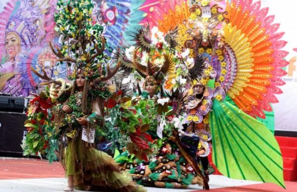 Ilustrasi ajang Malang Flower Carnival beberapa waktu lalu. (Foto: Istimewa)