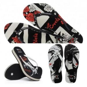 Tampil Beda dengan Sandal Jepit ala Disney Cruella