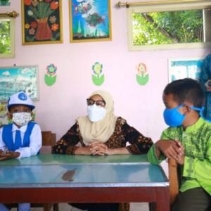 Bunda PAUD Kota Kediri Pantau Proses Pembelajaran Tatap Muka Terbatas
