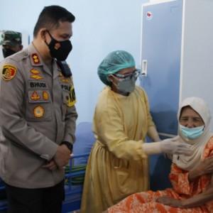 Wujudkan Herd Immunity, Polresta Malang Kota Telah Suntikkan 27 Ribu Dosis Vaksin