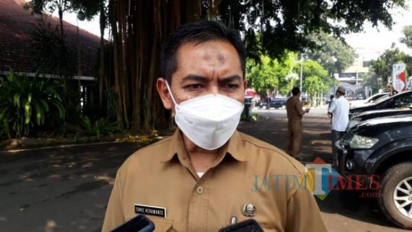 Kepala Bappeda Kabupaten Malang, Tomie Herawanto (foto: Hendra Saputra/ MalangTIMES)