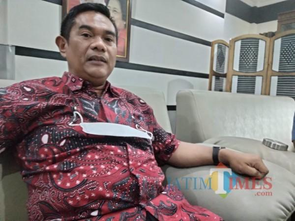 Ketua DPRD Kabupaten Malang, Darmadi. (Foto: Riski Wijaya/MalangTIMES).