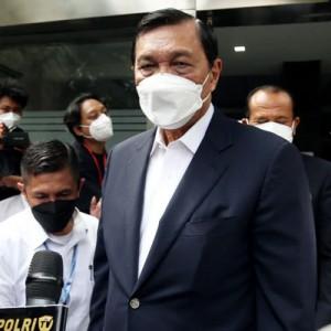 Luhut Diperiksa 1 Jam Terkait Laporan Terhadap Haris-Fatia, Polisi Upayakan Mediasi