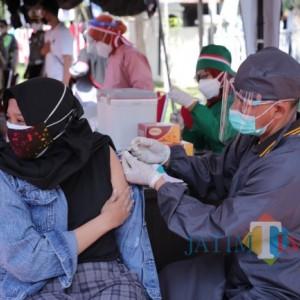 Vaksin Dosis 3 Tenaga Kesehatan Sudah 77 Persen di Kota Batu, Kurang 379 dari Target