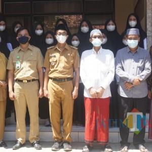 Wujudkan Ponpes Sehat di Tengah Pandemi Covid-19, Ponpes Ummul Quro Putri Resmikan Poskestren