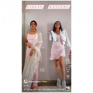Ubah Mini-Dress Jadi Indian atau Western Style? Simak Caranya