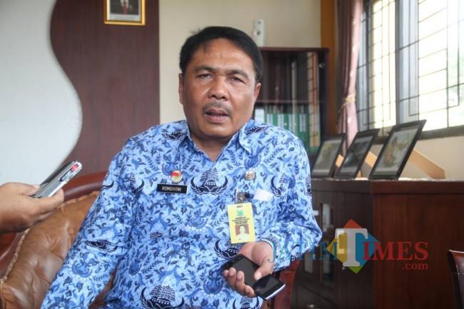 Kepala DPUBM Kabupaten Malang, Romdhoni.