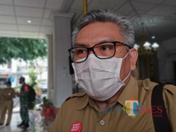 Kepala Dindik Kabupaten Malang, Rahmat Hardijono.(Foto: Riski Wijaya/MalangTIMES).