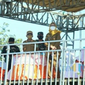 Bupati dan Wabup Lumajang Saksikan Latihan Tempur Korps Paskhas TNI-AU
