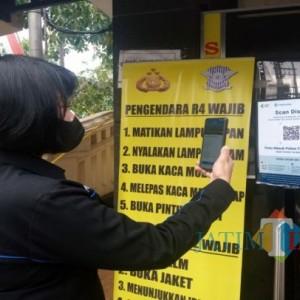 Masuk Kantor Polisi di Tulungagung, Pengunjung Wajib Punya Aplikasi PeduliLindungi