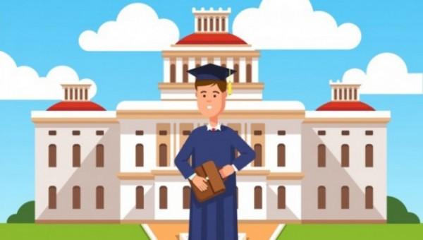 Ilustrasi kampus swasta (admissionhaunt)