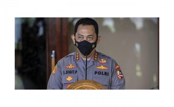 Kapolri Jenderal Listyo Sigit Prabowo (Foto: Merdeka.com)
