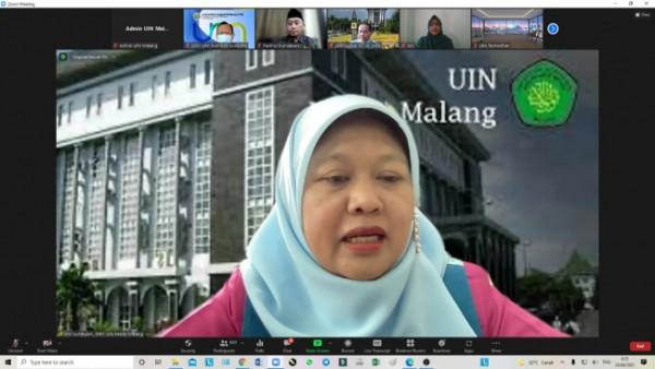 Wakil Rektor 1 Bidang Akademik UIN, Umi Sumbulah MAg (Ist)