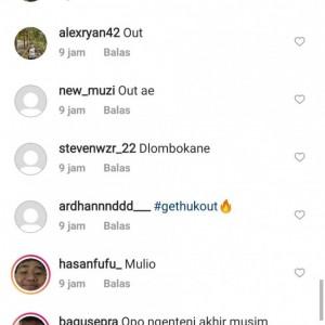 Kalah Telak dari Bhayangkara FC, Akun Instagram Joko Susilo Dibanjiri Persikmania