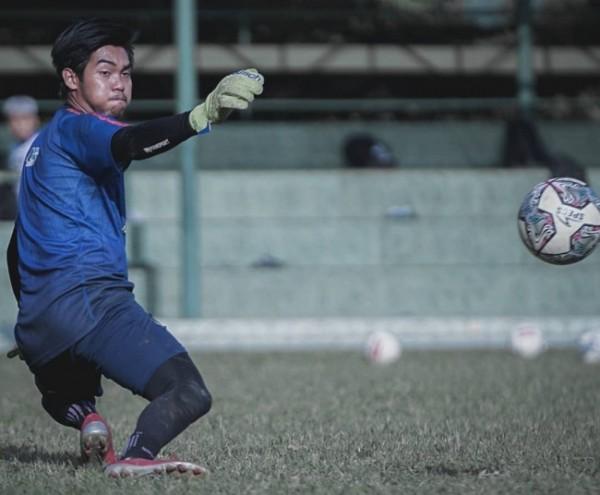 Kurniawan Kartika Ajie saat masih menjalani latihan bersama Arema FC (foto: Instagram Arema FC)