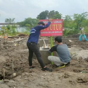 Dua Tower Seluler Ilegal di Jombang Ditutup Paksa Karena Rugikan Pemkab