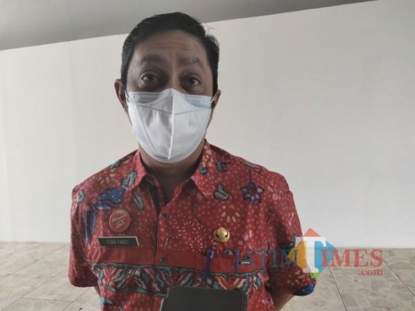 Plt. Kepala Diskominfo Kabupaten Malang, Nur Fuad Fauzi.(Foto: Riski Wijaya/MalangTIMES).