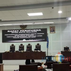 Fraksi-Fraksi DPRD Kota Malang Soroti Target Proyeksi Pendapatan Asli Daerah 2022