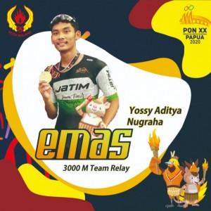 Atlet Sepatu Roda Asal Kota Malang Raih Medali Emas di PON Papua