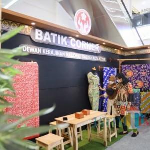 Hari Batik Nasional, Dekranasda Kota Kediri Buka Batik Corner di Mall