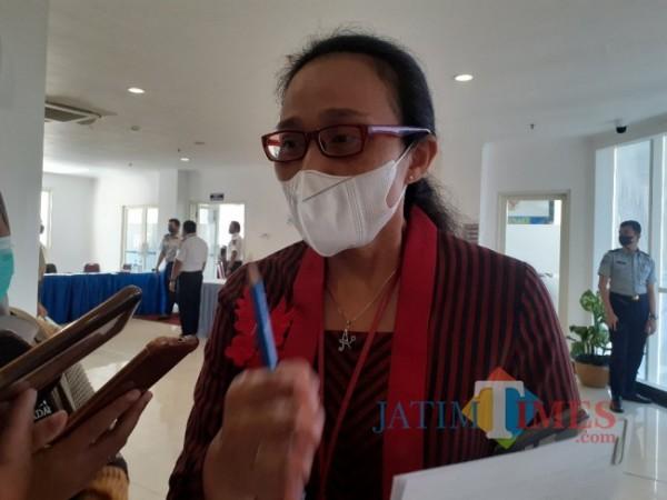 Kepala Badan Perencanaan Pembangunan Daerah (Bappeda) Kota Malang, Dwi Rahayu. (Arifina Cahyanti Firdausi/MalangTIMES).