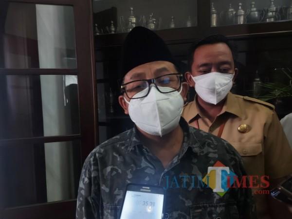Wali Kota Malang Sutiaji saat ditemui awak media di Balai Kota Malang beberapa waktu lalu. (Foto: Tubagus Achmad/ JatimTIMES)
