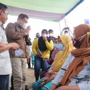 Wabup Malang Target Vaksinasi Tuntas November, Kecamatan Harus Ngebut