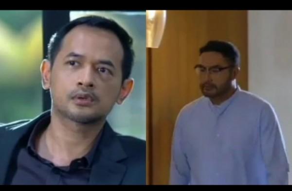 Salah satu scene Irvan dan Papa Surya di sinetron Ikatan Cinta RCTI. (Foto: source google)