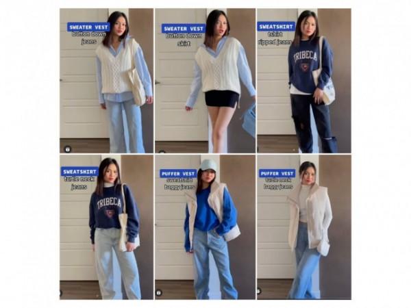 Inspirasi fashion essential untuk daily outfit. (Foto: Instagram @shaynehydn).